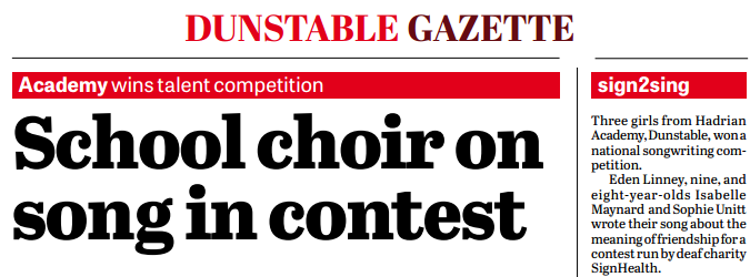 Dunstable Gazette
