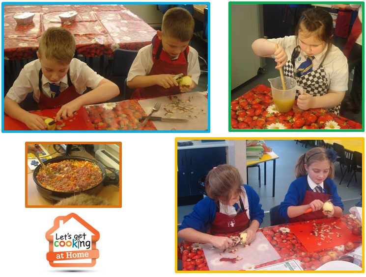 Lets get cooking hadrian academy children in year 1 are making apple and raspberry crumble why not have a go yourself this recipe and a few more are available in our recipe section solutioingenieria Choice Image